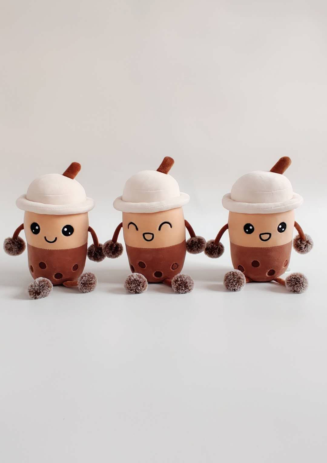 Milk tea cup plush toys